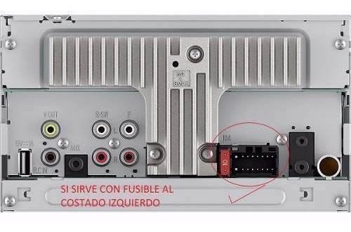 conector radio pioneer avh 295bt nuevo original envio gratis