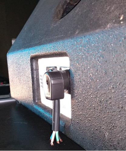 conector rc4a (áudio) 4 polos/2 vias- mesmo uso speakon