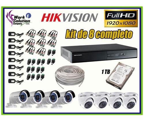 conector rca accesorios oferta kit cámaras de seguridad, ip