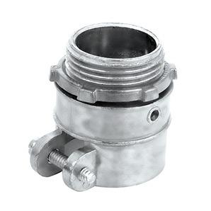 Conector Recto P Tubo Flexible Sapa Zapa Metal 1 1 2