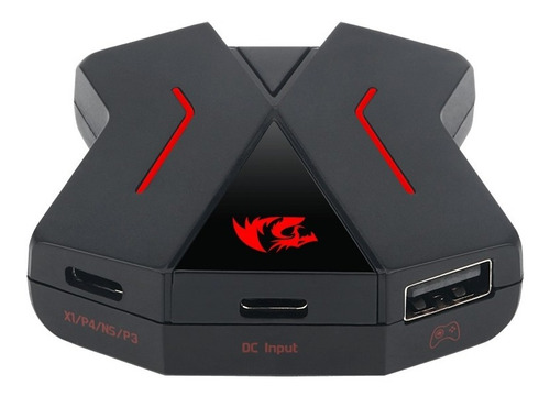 conector redragon eris teclado y mouse para ps4 x-one switch