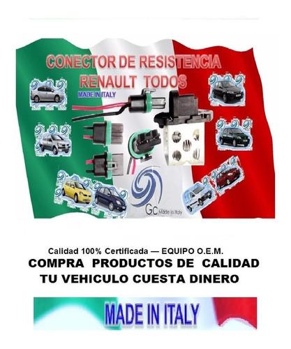 conector resistencia renault todos marca g.c. gate