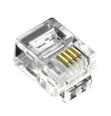 conector rj 11 paquete de 100 unidades