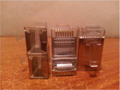 conector rj 45 metalico blindado rj45