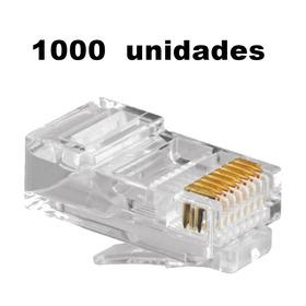 Conector Rj45  1000x Unidades