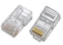 conector rj45 bolsa cat5e de 100 unidades. somos tienda