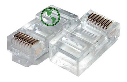 conector rj45 cat5e bolsa 100 unidades