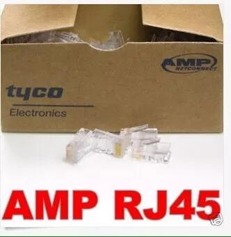 conector rj45 cat5e de red caja de 200 unidad tienda fisica