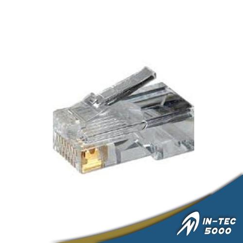 conector rj45 cat6. 100 und