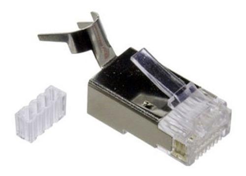 conector rj45 cat7 6a blindado 1 c&tv americano barra x unid