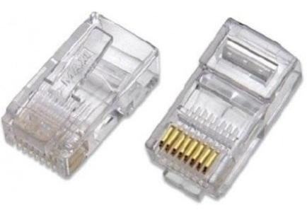 conector rj45 macho prensable por unidad