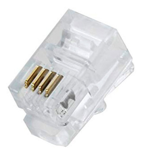 conector rj9  por unidades para auricular y teléfono