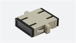 conector sc duplex beige