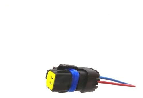 conector sensor chicote 2 vias peugeot 307 207 c4 c5 xsara