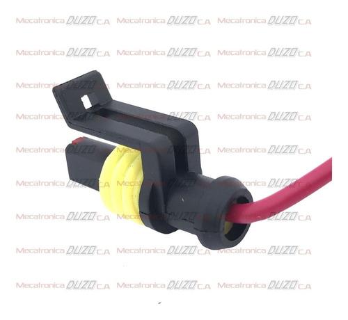 conector sensor presion aceite 1 pin corsa aveo palio ,