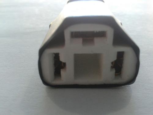 conector silvin de porcelana 3 patas sq-009 rt