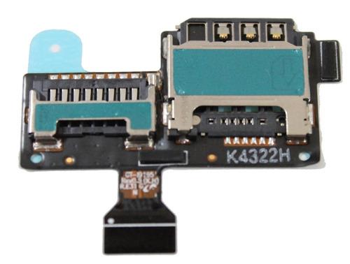 conector sim card /chip galaxy s4 mini i9192 i9195 i9190