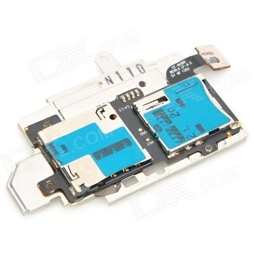 conector sim card leitor de chip p/ galaxy s3 i9300 original