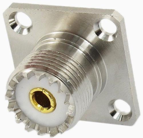 conector  (so239) hembra  chasis para pl 259