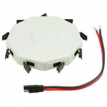 conector solar universal de 8 paneles con cable de dos clavi
