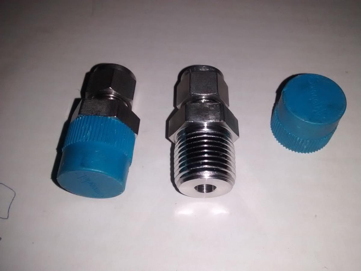 """Swagelok ss 2400 1-1//2 recto acoplador en línea de compresión hidráulico 316 1 1//2/"""""""