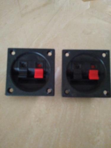 conector terminal cuadrado empotrable para cajon de sonido