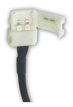 conector tira led monocromática 3528 2835 flexible exterior