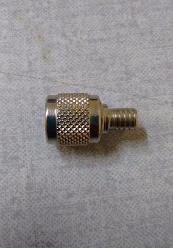 conector tnc macho para cabo rg6 c/10 unidade
