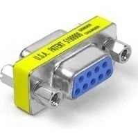 conector union rs232 serial hembra a hembra db9