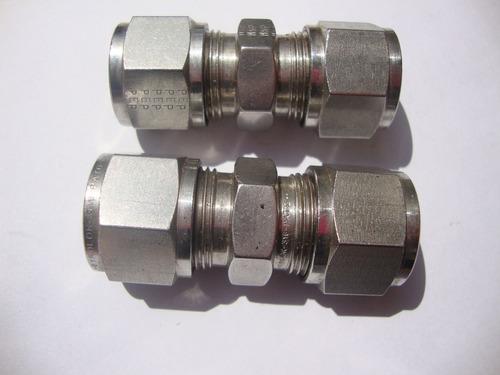 conector unión ss316 gyrolok 1/2  o.d.