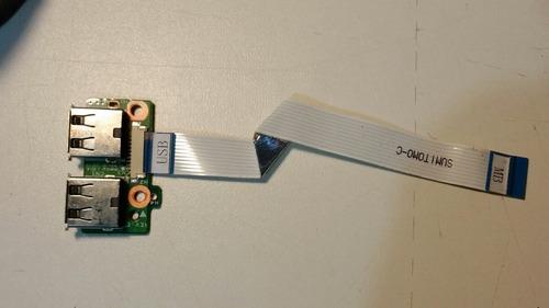 conector usb c/ cabo flat da0qt6tb6e0 hp dv5-1240br