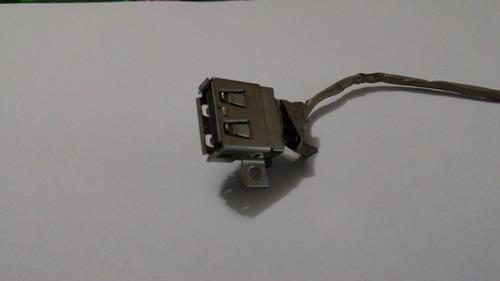 conector usb original notebook lenovo g460 0677