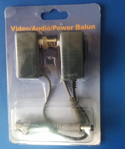 conector vídeo balun rj45 a coaxial