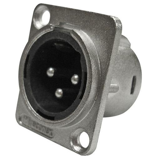 conector wireconex wc1033 xlr macho painel