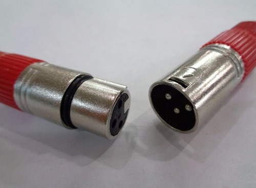 conector xlr canon hembra(macho)3 pin excelente