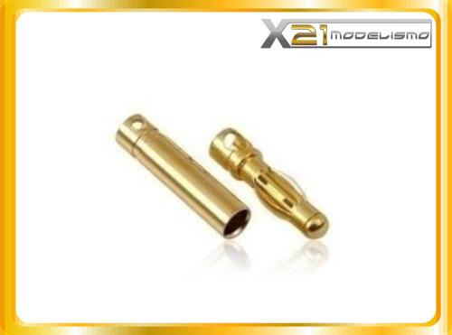 conectores 4mm bullet aero | héli | auto | drones & geral.