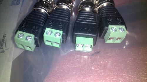 conectores bnc de cámaras