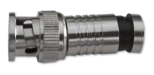 conectores bnc rg6 compresión crimpeable coaxial cctv