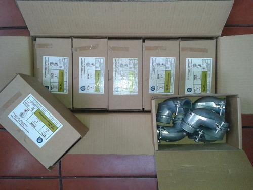 conectores bxcurvo 1 pulg (por caja)