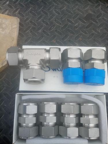 conectores de baja marca swagelok de 1 pulgada