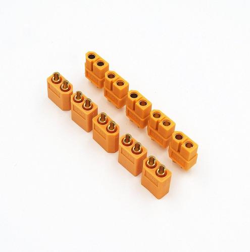 conectores de bateria lipo xt60.. airsoft y aeromodelismo