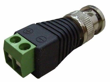 conectores de poder cámaras de seguridad cctv