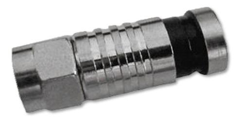 conectores f compresión crimpeable rg6 cctv directv