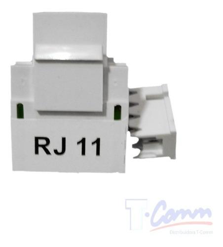 conectores jack/coupler telefónico rj11 hembra
