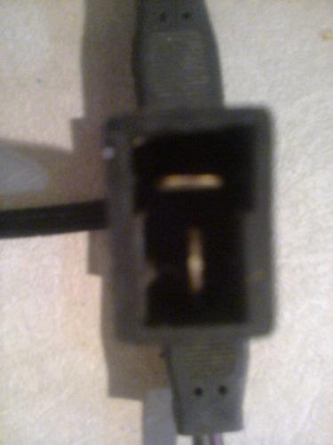 conectores machos para 12 - 24 volts