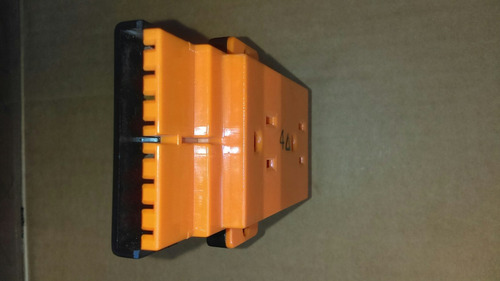 conectores naranja nivel hospitalario