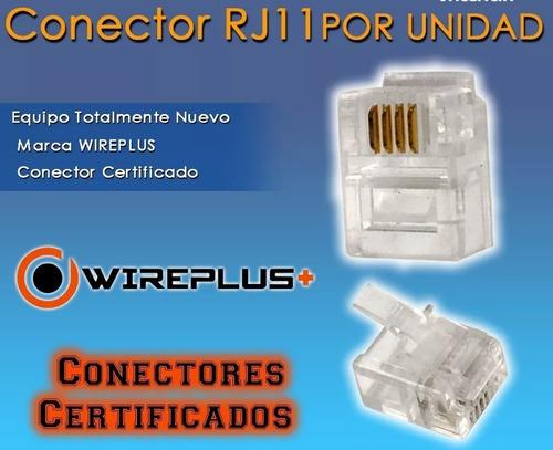 conectores rj11 alta calidad conector telefonico tienda