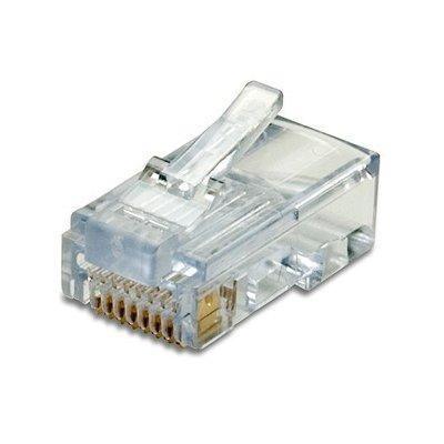 conectores rj45 americano, categoría 5e, bolsa x 100u