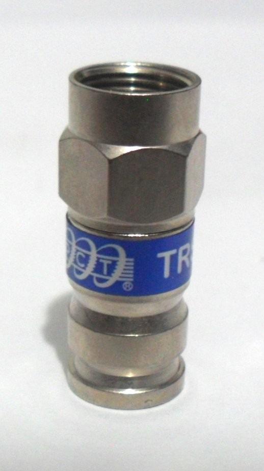 Conectores tipo f de compresi n para cable coaxial rg6 vv4 - Cable coaxial precio ...
