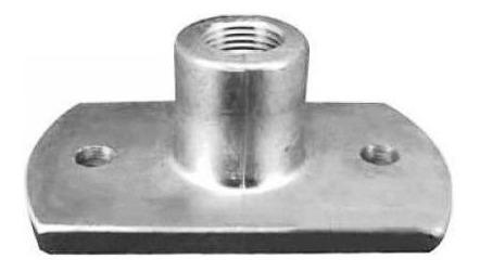 conector/suporte p/ bebedouro automático de suínos. aluminio